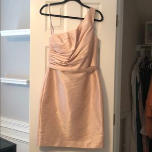 Light pink polyester dress